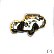 Pin's Automobile - Bugatti 57S Cabriolet 1937. Estampillé Ballard. Zamac. T510-04 - Pin's
