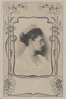 CPA Tsarine Alexandra Feodorovna épouse Du Tsar Nicolas II Russie Russia Russian Royalty Royauté écrite - Russie