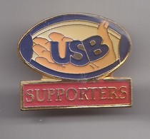 Pin's Rugby USB Supporters  Réf 8239 - Rugby