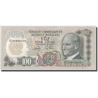 Billet, Turquie, 100 Lira, L.1970, 1970-01-26, KM:189a, SPL - Turkey