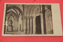 Casamari Frosinone L' Abbazia Entra Alla Chiesa 1943 Usura A Sinistra - Unclassified