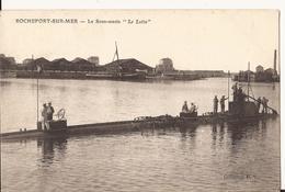 """9346. CPA MARINE FRANCAISE. ROCHEFORT SUR MER. LA SOUS-MARIN """"LE LUTIN"""" 1905 - Matériel"""