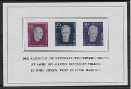 DDR - BLOC YT N°9 **  - COTE = 80 EUR - - Unused Stamps
