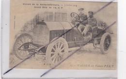 Circuit De La Seine Inférieure (76) WAGNER Sur Voiture F.I.AT. Le 7 Juillet 1908.Grand Prix De L'A. C. F. - Frankrijk