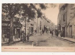 ( 46 ) CASTELNAU MONTRATIER Rue G Clémenceau - Francia