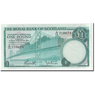 Billet, Scotland, 1 Pound, 1969, 1969-03-19, KM:329a, SPL - [ 3] Scotland