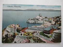 CPA POSTCARD GIBRALTAR ROSIA BAY Sous-marin Write In Submarine Toulon Aigrette=cdt PAD Military Navy MARINE MILITAIRE - Gibraltar