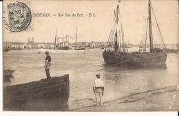 9354. CPA 33 BORDEAUX. UNE VUE DU PORT 1906 - Bordeaux