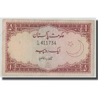 Billet, Pakistan, 1 Rupee, Undated (1973), KM:10a, TB - Pakistan