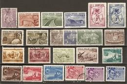 Albanie 1950/9 - Petit Lot De 23 Timbres Dont 2 Séries Complètes - 5 MNH, 18° - Albanie