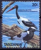 TB8- Tanzania 1989 MNH, Water Birds, Saddle-billed Stork - Storchenvögel
