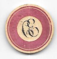 Ancien Jeton (ficha) OS De 20 Francs Casino CE - Casino