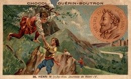 CHOCOLAT GUERIN BOUTRON   HENRI IV - Guerin Boutron