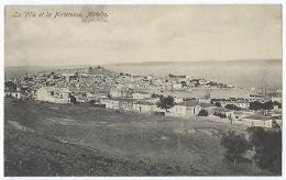 CPA Grèce Greece Mételin Rare La Ville Et La Forteresse Mytilene Mitilini Lesbos Lesvos Guerre Des Balkans Moudros 1915 - Grecia