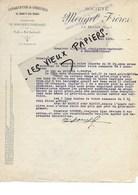 88 - Vosges - LA BRESSE - Facture MOUGEL - Exploitation De Carrières De Granits Des Vosges - 1929 - REF 96D - Switzerland