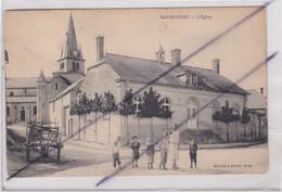 Ramecourt (62) L'Eglise (charrette -Enfants) - Non Classés