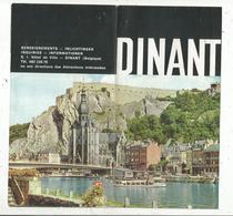 Dépliant Touristique, 8 Pages , DINANT , Belgique , 2 Scans , Frais Fr :1.45 E - Dépliants Touristiques