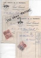 88 - Vosges - DOMBROT-LE-SEC - Facture POINSOT - Vins Directs De La Propriété - 1939 - REF 96D - Switzerland