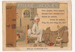 9360. FORMAT CPA PUBLICITE ILLUSTRATEUR. RICQLES. FRERE JACQUES... - Publicité