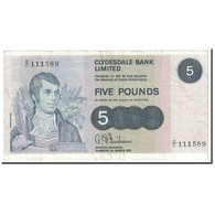 Billet, Scotland, 5 Pounds, 1971, 1971-03-01, KM:205a, TB+ - Scozia