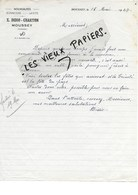 88 - Vosges - MOUSSEY - Facture DIDIO-CHARTON - Nouveautés, Bonneterie, Layette - 1947 - REF 96D - Switzerland