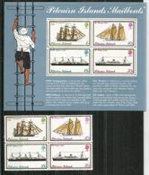 History Of Pitcairn Islands Mailboats, Bloc-feuillet + Série Neufs **.  Côte  50,00  € EUR - Timbres