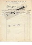 88 - Vosges - RASEY - Facture MANTE - Commerce De Bois, Industrie Et Chauffage - 1938 - REF 96D - Switzerland
