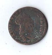 Monnaie France Louis XIIII Liard De France I 1657 - 1643-1715 Louis XIV. Le Grand