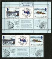 Pitcairn Islands Longboats,  Bloc-feuillet + Série Neufs **. - Timbres