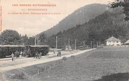 88 - Retournemer - Le Départ Du Train Electrique Pour La Schlucht - France