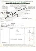 88 - Vosges - LE THILLOT - Facture GROSJEAN - Manufacture De Cuirs - 1946 - REF 96D - Switzerland