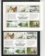 Pitcairn Islands Bicentenary,  Bloc-feuillet + Série Neufs **. Côte 20,00  € EUR - Timbres