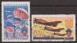 Russia USSR 1951, Mi 1595-1596, Used - 1923-1991 URSS