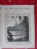 Le Monde Colonial Illustré N° 11 De 1924. Tahiti Guadeloupe Cambodge Annam Océanie Laos Marquises Saint-pierre Miquelon - Zeitungen