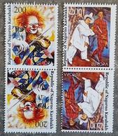Arménie / Haut Karabakh / Nagorno Karabakh - Paire Tête Bêche - EUROPA / Le Cirque - 2002 - Neufs - Arménie