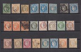 Ghle - Lot Timbres France - Neufs Sans Gomme Ou Oblitérés - Classiques Et Timbres Jusque 1959 - Lot Sympa - Timbres