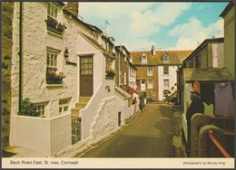 Back Road East, St Ives, Cornwall, C.1970s - Murray King Postcard - St.Ives