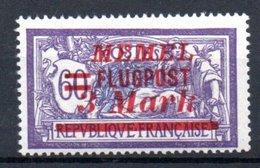 Memel /   Poste Aérienne / N 25 / 3 M Sur 60 Cts Violet /  NEUF Avec Charnière - Memel (1920-1924)