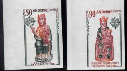 Andorra Francesa. ** Europa '74 Sin Dentar. Raros. - Usados