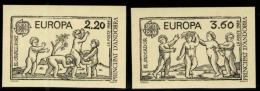 Andorra Francesa. ** Europa '89 Sin Dentar. Raros. - Nuevos