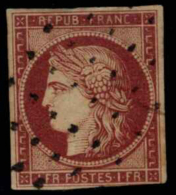 France. Ø 6. Bonito. Cat. 950 €. - 1849-1850 Ceres