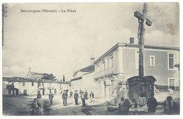 Cpa  Saturargues - La Place - France