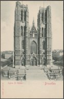 Eglise St Gudule, Bruxelles, C.1900-05 - Stengel & Co U/B CPA - Brussels (City)