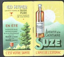 Carnet Calendrie Publicitaire, SUZE, Annee 1940 - Petit Format : 1921-40