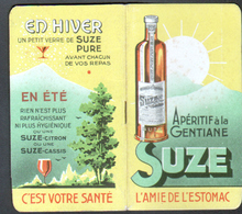 Carnet Calendrie Publicitaire, SUZE, Annee 1940 - Calendari