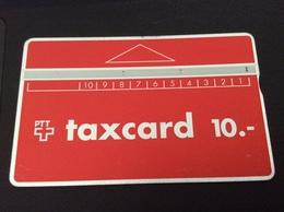 Low Price: 10 Sfr. Taxcard Red - Nr. 904B - Fine Used - Schweiz
