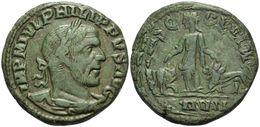 Sesterce Provinciale Viminacium / PHILIPPE Ier L'ARABE 17,48 G (Sear 3874) - 5. L'Anarchie Militaire (235 à 284)