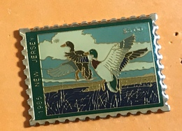 TIMBRE NEW JERSEY CANARD - Mail Services