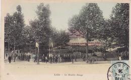 59 / LILLE / LE MOULIN ROUGE / TRES JOLIE CARTE COLORISEE / TBE - Lille