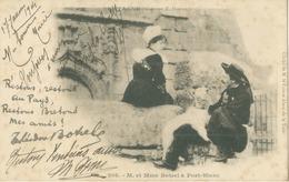 Port-Blanc 1904; M. Et Mme Botrel - Voyagé. (E. Hamonic) - Penvénan